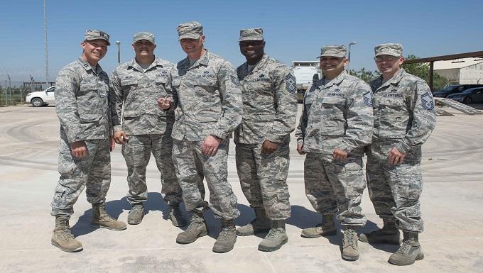 Chief Clark visits 39th CES Airmen