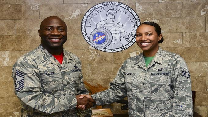 Chief Shadow: Staff Sgt. Chelsea Baker